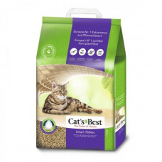 Наполнитель туалета для кошек Rettenmaier Cats Best Smart Pellets 20 л (древесный)