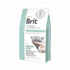 Brit GF Veterinary Diets Cat Struvite 2 kg