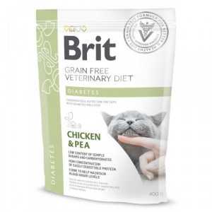 Brit GF Veterinary Diets Cat Diabets 400 g