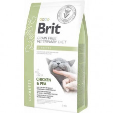 Brit GF Veterinary Diets Cat Diabets 2 kg