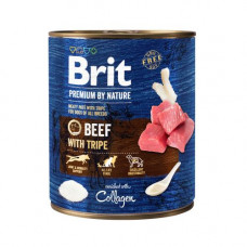 Brit Premium by Nature 800 г говядина с требухой