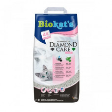 Наполнитель туалета для кошек Biokats Diamond Fresh 8 л (бентонитовый)